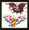 Cartoon: Transformation (small) by Kestutis tagged changes transformation bat nature fledermaus schmetterling butterfly kestutis lithuania animal