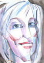 Cartoon: edda von sinnen 2 (small) by Kestutis tagged edda,von,sinnen,kestutis,lithuania,portrait