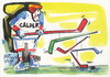 Cartoon: Good Hockey player (small) by Kestutis tagged good hockey player winter sports olympic sochi 2014 ice calder alexander art kestutis lithuania