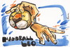 Cartoon: HANDBALL LEO (small) by Kestutis tagged handball,leo,lion,pantomima,sport,hand
