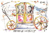 Cartoon: HEINRICH VON KLEIST (small) by Kestutis tagged heinrich von kleist travel reise