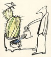 Cartoon: INVENTIVE FLORIST (small) by Kestutis tagged inventive florist nature kestutis siaulytis lithuania adventure