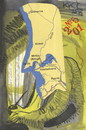Cartoon: Map memories (small) by Kestutis tagged dada,postcard,liner,map,memories,kestutis,lithuania