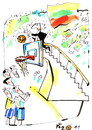 Cartoon: OPENING CEREMONY (small) by Kestutis tagged basketball,sport,championships,final,kestutis,lithuania