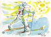 Cartoon: Winter Olympic calendar (small) by Kestutis tagged calendar winter olympic start snow sochi 2014 sports skiing sun kestutis siaulytis