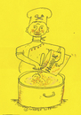 Cartoon: Koch2 (small) by Ales Moravek tagged pizzapitch