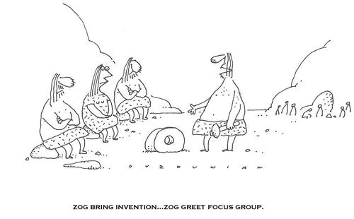 Cartoon: cavemen and stuff (medium) by ouzounian tagged cavemen