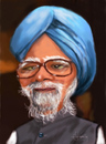 Cartoon: Manmohan Singh (small) by cristianst tagged caricature