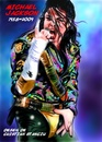 Cartoon: Michael Jackson (small) by cristianst tagged music