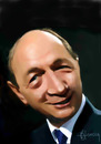 Cartoon: Traian Basescu (small) by cristianst tagged basescu