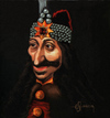 Cartoon: Vlad Tepes-Dracula (small) by cristianst tagged valachia