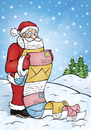 Cartoon: Letters (small) by dragas tagged nikola,dragas,heppy,new,year,merry,christmas,santa,claus