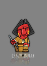 Cartoon: Geronimo (small) by StajevskiArt tagged crazy,indian