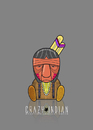 Cartoon: Sitting Bull (small) by StajevskiArt tagged crazy,indian