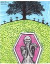 Cartoon: spirit rest (small) by odinelpierrejunior tagged drawings,cartoons,paintings,images,ars,pictures