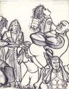Cartoon: x-men sketch (small) by odinelpierrejunior tagged arts,cartoons,sketch,drawings,paintings,pictures
