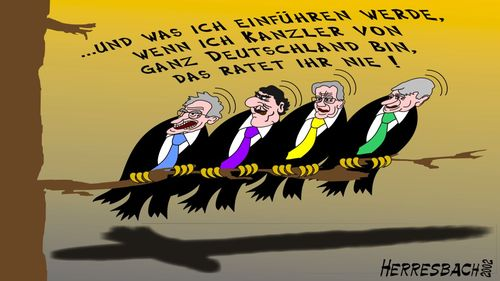 Cartoon: Cartoon 0039 (medium) by cartoonfuzzy tagged kanzler,brd,humourus,humoristico,globalization,cartoons,cartunes,caricature,caricatura,caricaturas,karikaturen,politik,political,herresbach,wahlen,freiheit,globalisierung,krieg,michel,deutscher,innenpolitik,aussenpolitik,comixfuzzy,cartoonfuzzy