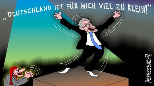 Cartoon: Cartoon 0061 (medium) by cartoonfuzzy tagged stoiber,edmund,humourus,humoristico,globalization,cartoons,cartunes,caricature,caricatura,caricaturas,karikaturen,politik,political,herresbach,wahlen,freiheit,globalisierung,krieg,michel,deutscher,innenpolitik,aussenpolitik,comixfuzzy,cartoonfuzzy