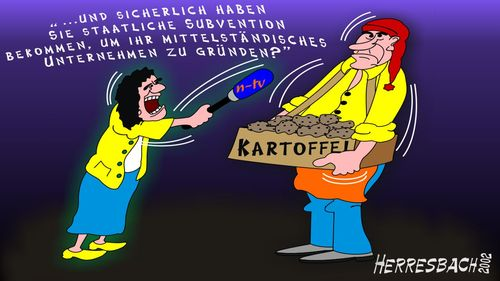 Cartoon: Cartoon 0109 (medium) by cartoonfuzzy tagged mittelstand,subvention,humourus,humoristico,globalization,cartoons,cartunes,caricature,caricatura,caricaturas,karikaturen,politik,political,herresbach,wahlen,freiheit,globalisierung,krieg,michel,deutscher,innenpolitik,aussenpolitik,comixfuzzy,cartoonfuzzy