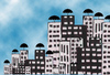 Cartoon: city (small) by leo caraffa tagged city