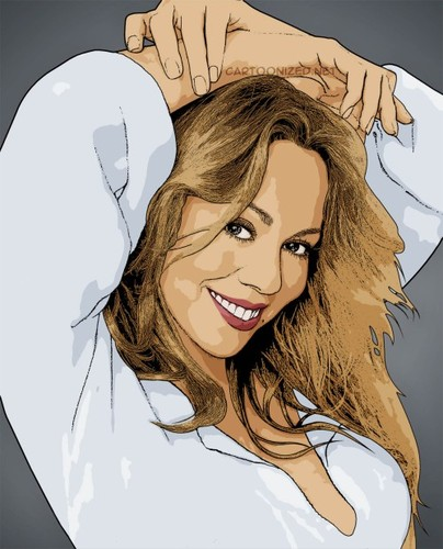 Cartoon: Mariah Carey (medium) by cartoon photo tagged mariah,carey,cartoon,photo,cartoonized,cartoonization,world,celebrity,female,woman,singer