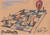 Cartoon: Cartoon by Olimp - GPS 4. (small) by Olimp tagged olimp,cartoons,transylvania,gps,googlemaps,navigation,chess