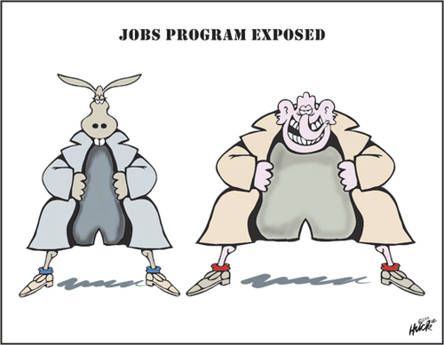 Cartoon: exposed (medium) by gibby9 tagged hucktoon