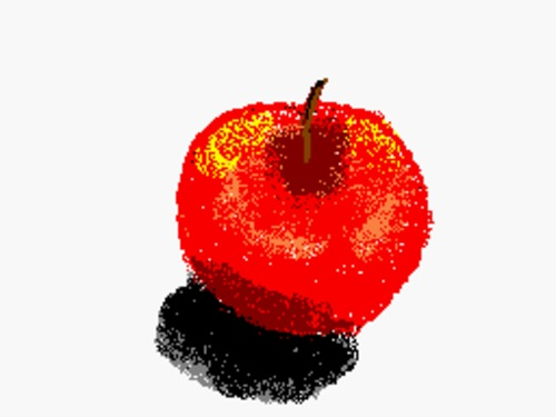 Cartoon: Apple (medium) by Franc tagged apple