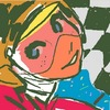 Cartoon: oekaki-racing-cars (small) by claudio acciari tagged oekaki,pixel,art,illustration,70,girl,cars,sport,racing,f1