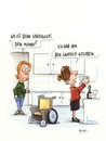 Cartoon: laufpass (small) by ms rainer tagged mann,frau,rollstuhl