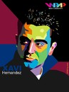 Cartoon: Xavi on WPAP (small) by areztoon tagged xavi,wpap,barcelona,fcb,barca