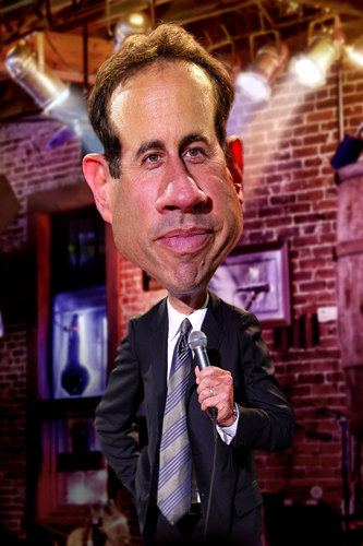 Cartoon: Jerry Seinfeld (medium) by RodneyPike tagged art,caricature,humor,illustration,manipulation,photo,photomanipulation,photoshop,pike,rodney,rwpike,digital,graphic,celebrity,political,satire,jerry,seinfeld,comedian