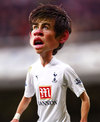 Cartoon: Gareth Bale (small) by RodneyPike tagged gareth,bale,caricature,illustration,rwpike,rodney,pike