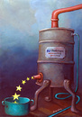 Cartoon: EU production (small) by luka tagged europa
