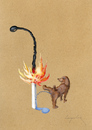 Cartoon: Fire (small) by luka tagged fire