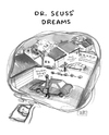 Cartoon: Dr. Seuss Dreams (small) by a zillion dollars comics tagged dreams,fantasy,creativity,mundane,normal
