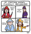 Cartoon: Family Resemblance (small) by a zillion dollars comics tagged fairy,tales,pirates,fiction,stories,literature,disney,movies,film