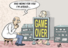 Cartoon: BAD NEWS... (small) by Vejo tagged doctor,health,diagnosis,patient