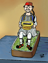 Cartoon: Greece... (small) by Vejo tagged eurocrisis,greece