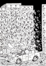 Cartoon: TICKER TAPE PARADE... (small) by Vejo tagged pope,aids