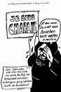Cartoon: Charlie (small) by Alan tagged charlie,hebdo,mohammed,paris,karikaturist,cartoonist