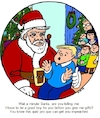 Cartoon: Impeach Santa (small) by Alan tagged quid,pro,quo,santa,christmas,gifts,boy,family