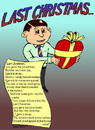 Cartoon: Last_Christmas (small) by Alan tagged last,christmas,giving,heart,giveaway,organ,transplant