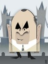 Cartoon: Bob Hoskins (small) by spot_on_george tagged bob,hoskins,caricature