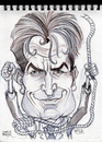 Cartoon: Caricature of Charlie Sheen (small) by McDermott tagged caricature,charliesheen,movies,tv,twoandhalfmen,mcdermott,new