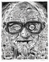 Cartoon: GEORGE A. ROMERO (small) by McDermott tagged dead,zombies,romero,dawnofthedead,scary