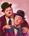 Cartoon: Laurel and Hardy Famous Comedian (small) by McDermott tagged famouscomedian,laurelandhardy,comedy,tvland,oldmovies,funny