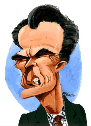 Cartoon: Clint Eastwood (medium) by Jedpas tagged caricature,clint,eastwood,dirty,harry