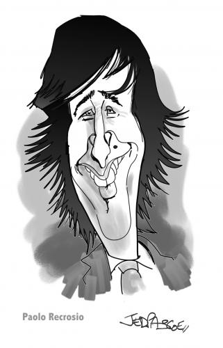 Cartoon: Paulo Recrosio (medium) by Jedpas tagged caricature,corporate,conference,xerox,big,nose