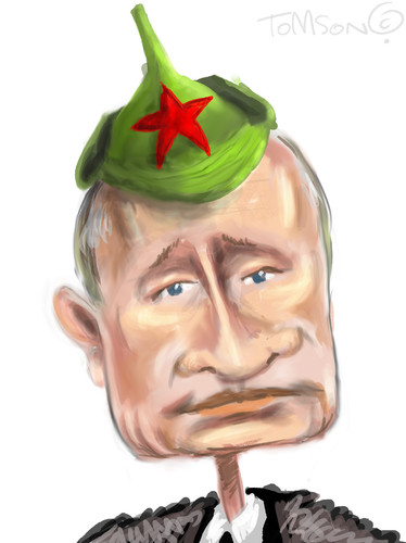 Cartoon: ... (medium) by to1mson tagged rosja,russia,putin